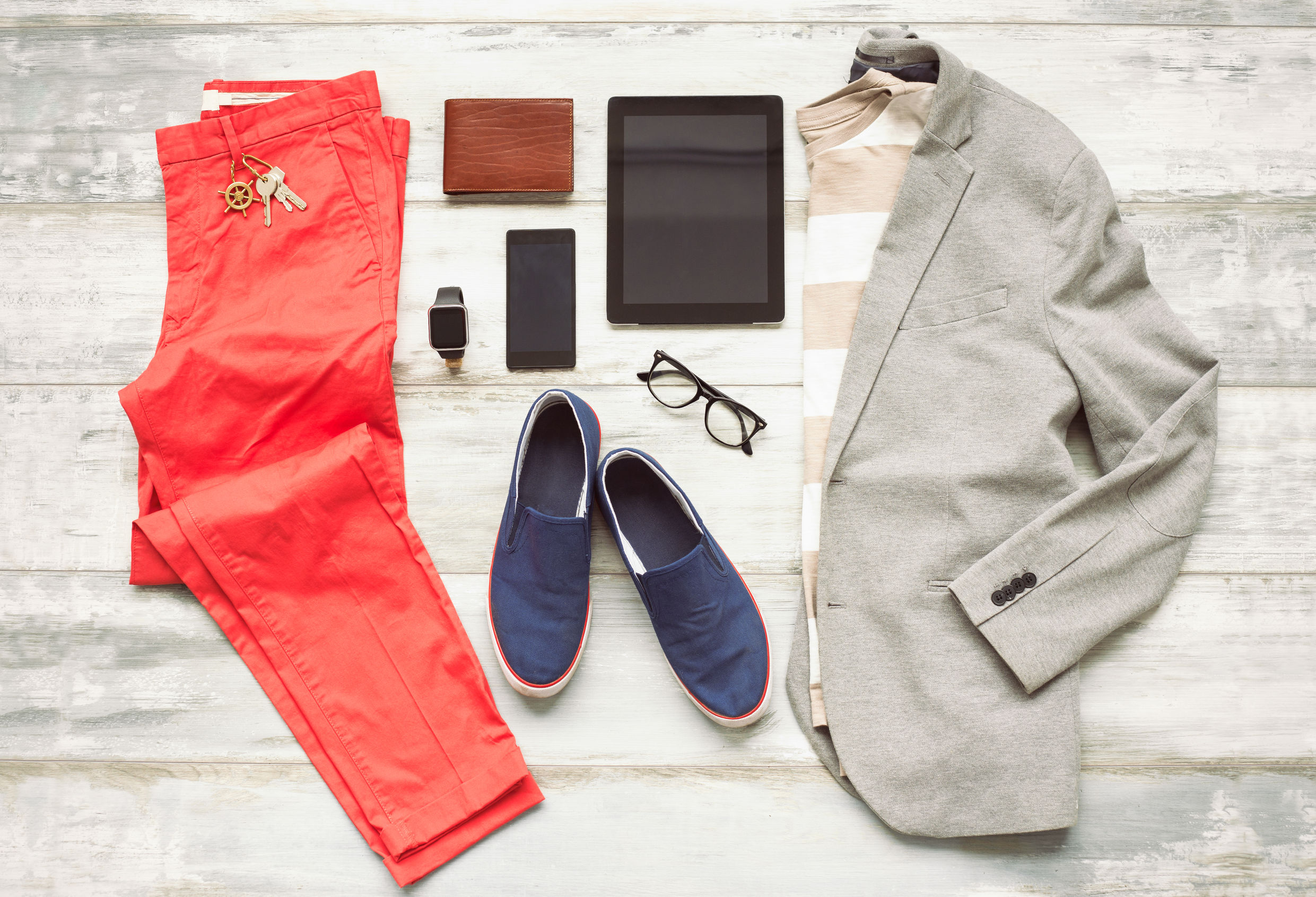 57874487 - modern set of outfit